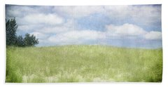 Beyond The Grassy Dune Hand Towel by Kathi Mirto