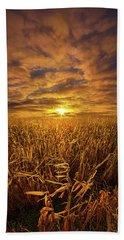 Beyond The Harvest Bath Towel by Phil Koch