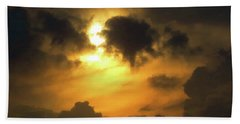 Biblical Sunset Bath Towel