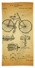 Bicycle Patent Hand Towel