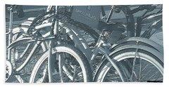 Bicycles Bath Towel