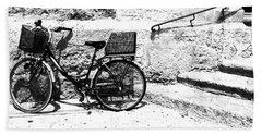 Bicyle In Cuitadella Hand Towel