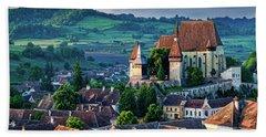 Biertan Church Dawn - Romania Hand Towel