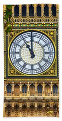 Big Ben At 11 Hand Towel