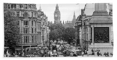 Big Ben From Trafalgar Square Bath Towel