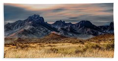 Big Bend Hill Tops Hand Towel
