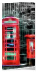 Bath Towel featuring the photograph Big Box Little Box by Scott Carruthers