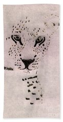 Big Cat Hand Towel