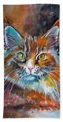 Big Cat Hand Towel