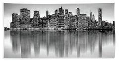 Big City Reflections Hand Towel