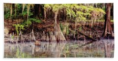 Big Cypress Bayou Morning Hand Towel