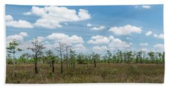 Bath Towel featuring the photograph Big Cypress Marshes by Jon Glaser