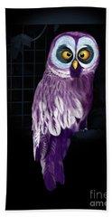 Big Eyed Owl Hand Towel