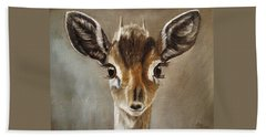 Big Eyes Dik-dik Bath Towel