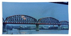 Big Four Bridge Bath Towel