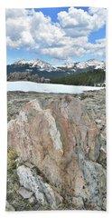 Big Horn Pass In Wyoming Bath Towel