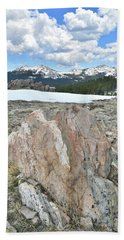 Big Horn Pass In Wyoming Bath Towel