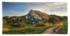 Big Rock Hand Towel by Endre Balogh