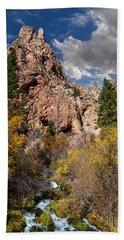 Big Spring In Sheep Creek Canyon Hand Towel