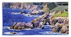 Big Sur California Coast Hand Towel