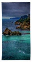 Big Sur Coastline Bath Towel by Joseph Hollingsworth