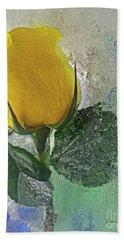 Big Yellow Hand Towel
