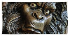 Hand Towel featuring the photograph Bigfoot by Art Block Collections