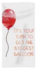 Biggest Balloon- Card Hand Towel