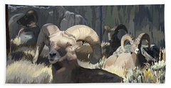 Bighorn Boys Bath Towel