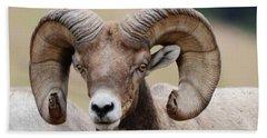 Bighorn Ram 3 Hand Towel