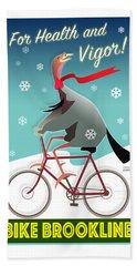 Bike Brookline Bath Towel