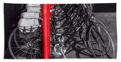 Bikes Bath Towel