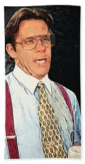 Bill Lumbergh - Office Space Hand Towel