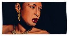 Billie Holiday Hand Towel