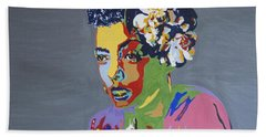 Billie Holiday Bath Towel