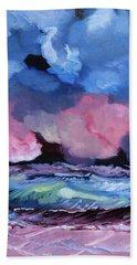 Billowy Clouds Afloat Bath Towel by Meryl Goudey