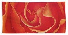 Biltmore Rose Hand Towel by Dee Dee  Whittle