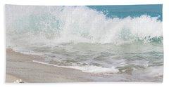 Bimini Wave Sequence 1 Bath Towel