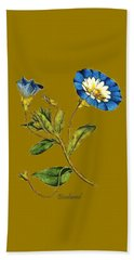 Bath Towel featuring the digital art Bindweed by Asok Mukhopadhyay
