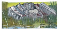 Birch Mountains Hand Towel