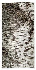 Bath Towel featuring the photograph Birch Tree Bark by Christina Rollo