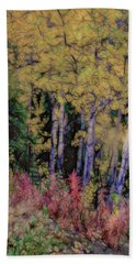 Birches At The Perch #1 Hand Towel