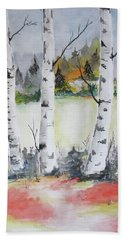 Birches Bath Towel