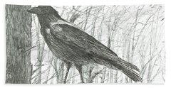 Bird, 2011 Hand Towel