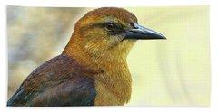 Hand Towel featuring the photograph Bird Beauty by Deborah Benoit
