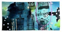 Bird Cages Hand Towel