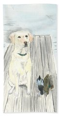 Bird Dog Hand Towel