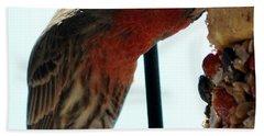 Bird Hits The Jackpot Hand Towel