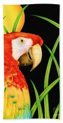 Bird In Paradise Bath Towel