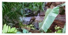 Bird Lagoon Hand Towel